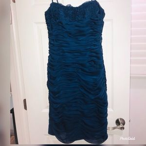 Adrianna Papelle Cocktail Navy Dress